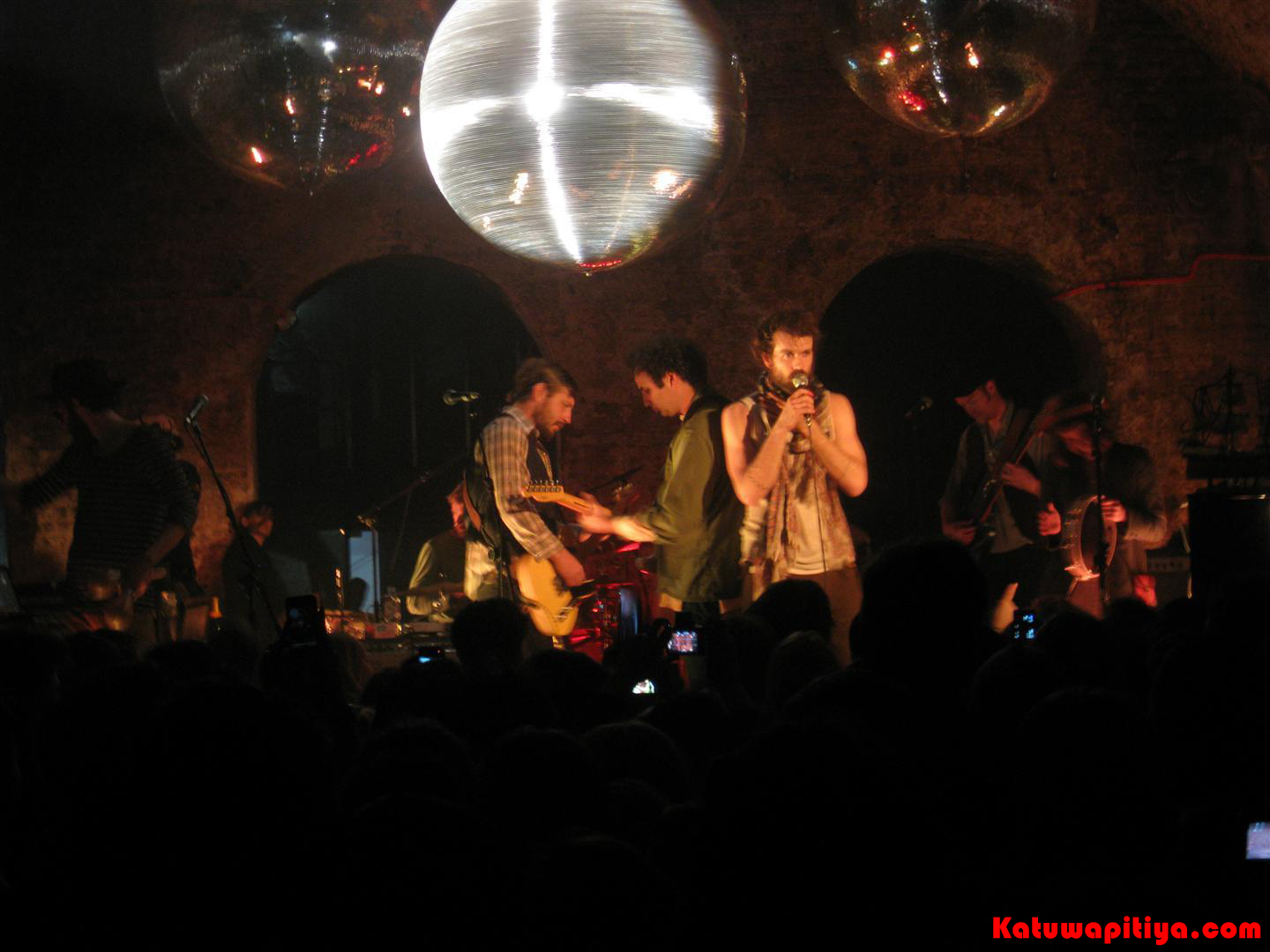 Edward Sharpe and The Magnetic Zeros performing at The Old Vic Tunnels