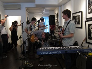 The Elwins at Analogue Gallery