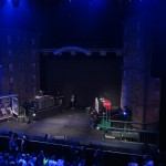 Stage Set-up for Nas