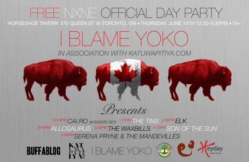 I Blame Yoko / Katuwapitiya.com NXNE Showcase