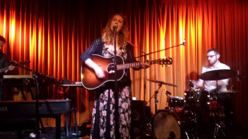 Megan Bonnell performs in Toronto